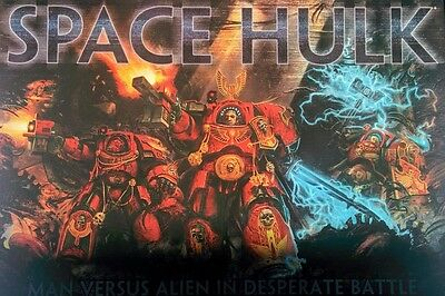 Warhammer 40k Space Hulk 4th Edition 2014 Limited Run OOP