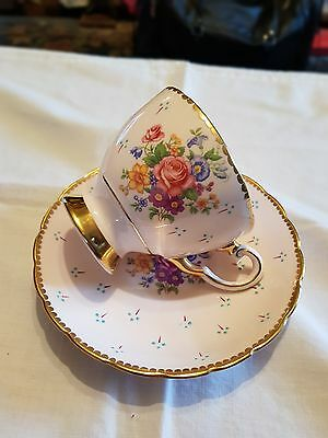 Vintage Tuscan Fine Bone China Cup And Saucer