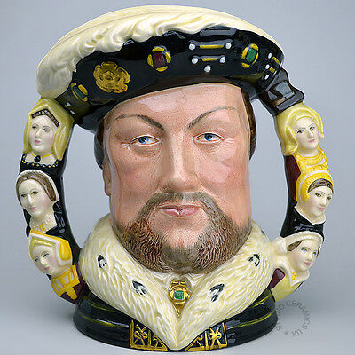Royal Doulton King Henry Viii Large Character Jug D6888
