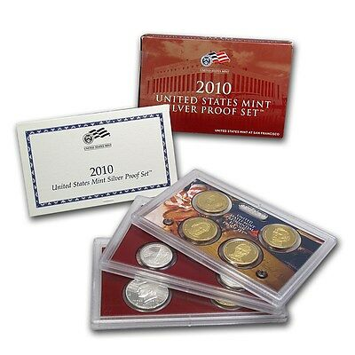 2010 United States Mint SILVER Proof Set w/ Box and CoA