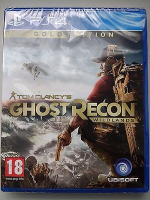 PS4 Ghost Recon Wildlands Gold Edition (New and Sealed)