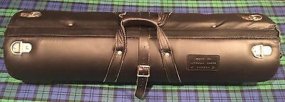 Bassoon Case-Wiseman (London) classic tubular leather-covered case