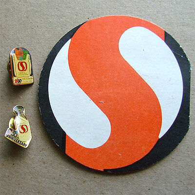 Vintage Safeway Supermarkets Sewing Needle Kit Advertising Souvenir and Pins