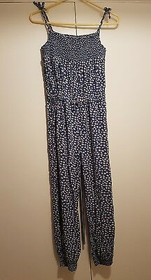Blue Zoo playsuit - age 13