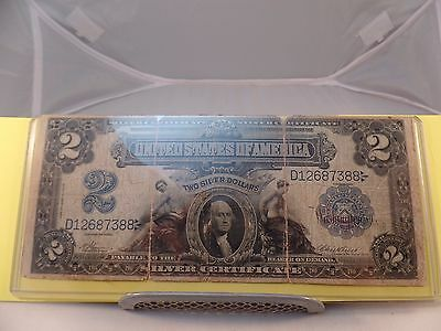 USA / 2 DOLLARS, SILVER CERTIFICATE 1899 SERIES No D12687388