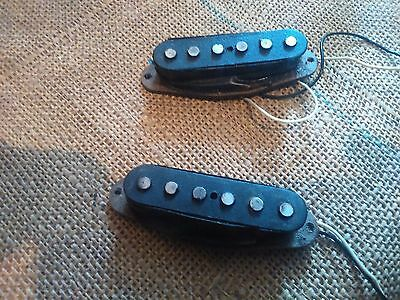 2 x Fender Stratocaster  Pickups, Vintage 1976 working and good power