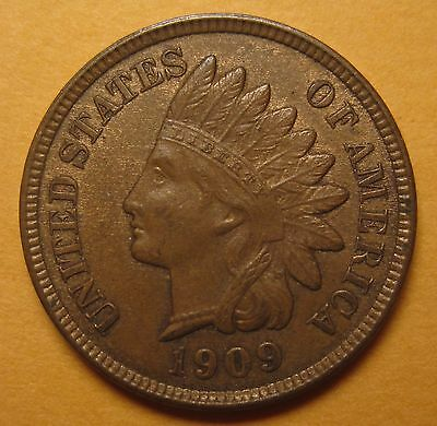 1909 Indian Cent – Choice Mint-State (ANACS MS-62 BN) !