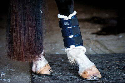 PS of Sweden Dressage Boots in Full Size/Navy (Front or Back)