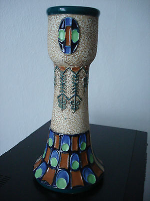 Great Decorative Art Nouveau,secessionist Jugendstil Amphora, Fully Marked  Vase
