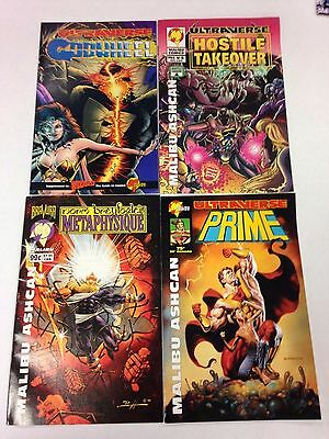 7 Malibu Ultraverse Comics Ashcans Prime Ultraforce Godwheel Hostile Takeover