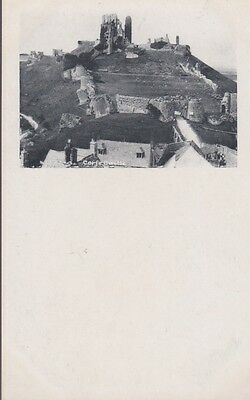 RA 32a rare old uncirculated vintage postcard  # 1 CORFE CASTLE Frith's series