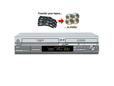 PANASONIC DMR-ES30V DVD Recorder and VCR Recorder Combi, Copy VHS Tapes to DVD