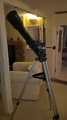 Skywatcher Evostar 90Eq2 Achromatic Refractor Telescope - Used Twice