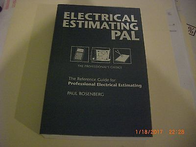 ELECTRICAL ESTIMATING PAL. Paul Rosenberg.