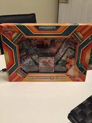 NEW Pokemon TCG: Dragonite EX Box 2016 - Collectors Item - FREEPOST