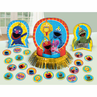 Sesame Street Elmo Table Decorating Kit 23 Piece Centerpiece Party Supplies