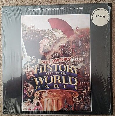 Mel Brooks History of the World Part 1 soundtrack 12inch vinyl