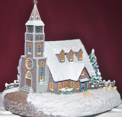 "Thomas Kinkade's Home for the Holidays Collection ""Moonlit Church"""