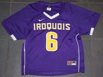Rare New Nike Iroquois Nationals #6 Lacrosse Jersey Youth Medium
