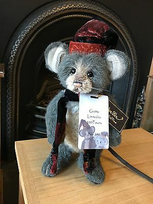 Charlie Bears Mohair - Grotto Mouse