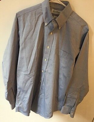 Brooks Brothers Non-Iron Original Polo Button Down Long Sleeve Shirt Size 15 34