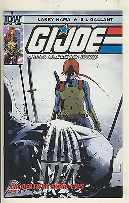 G.I. Joe 214 NM/NM- SUB Cover