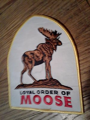 Loyal Order of Moose patch- New