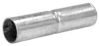 "Midwest Air 1-3/8"" x 6"", Galvanized Top Rail Sleeve 328592C"