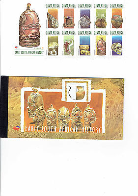 South Africa booklet MUH issue early history
