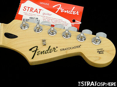 2017 Fender Stratocaster Standard Strat NECK with TUNERS C*Shape Maple