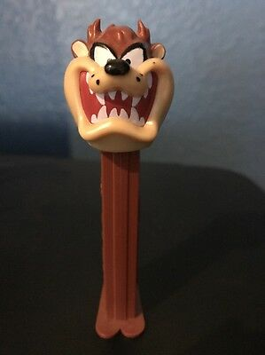 VTG 1995 Tasmanian Tazmanian TAZ Devil PEZ dispenser, Made in Hungary, EUC