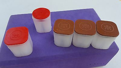 Canada Coin Tubes Assorted Size Coin Tubes (NO COINS) Lot of 5 Canadian Tubes