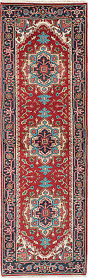 "Hand-knotted carpet 2'6"" x 8'0"" Serapi Heritage Wool Rug...REDUCED PRICE!"