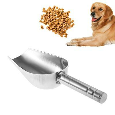 Stainless Steel Pet Food Scoop Shovel Pet Dog Cat Feeding Suppiles Thickening #