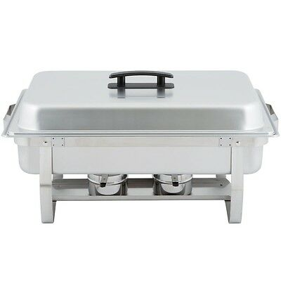 Choice 8 Quart Stainless Steel Full SiE Chafer