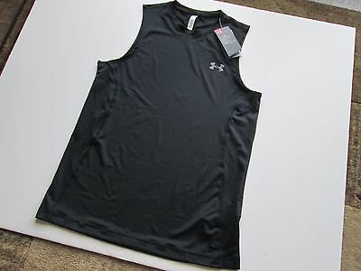 New Under Armour Men's Sleeveless Fitted Training Shirt M 1293951 UA