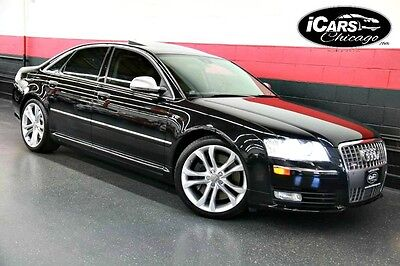 2009 Audi S8 Base Sedan 4-Door 2009 Audi S8 Navigation WARRANTY Bang & Olufsen KeyLess Start & Entry Serviced