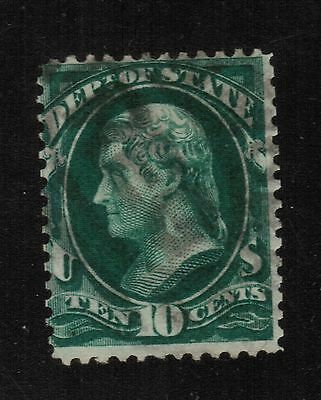 UNITED STATES #O68 - 10cent STATE OFFICIAL STAMP - USED
