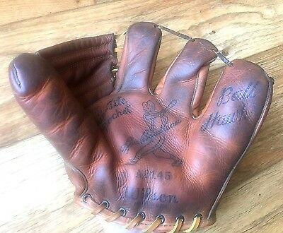 Wilson A2145 Lou Boudreau Ball Hawk Baseball Glove Made in USA Vintage