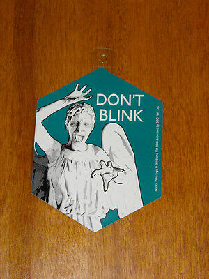Doctor Who - Sticker Don't Blink - Weeping Angels (NEW)