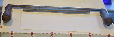 """Woodworking Draw Knife Brand Red Diamond 15"""" Antique Tool"""