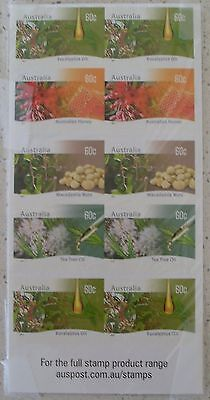 17 May 2011 Farming Australia-Native Plants Sheet Mnh Unused