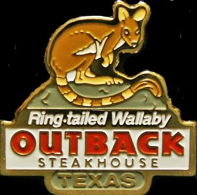 A1494 Outback Steakhouse Texas Ring Tailed Wallaby