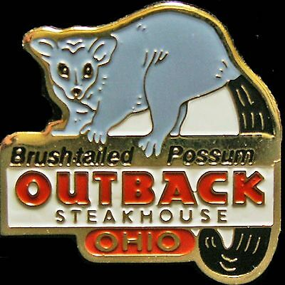 A1489 Outback Steakhouse Ohio Bush Trailed Possum