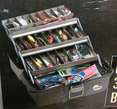NEW OPEN PACKAGE Plano Molding Guide Series Large 3-Tray Tackle Box - READ