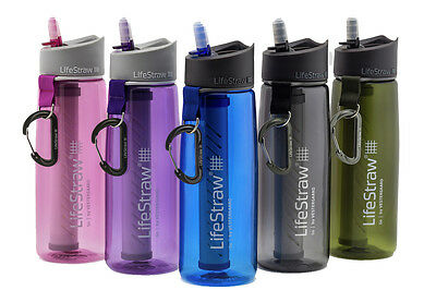 LifeStraw Go 2-Stage Filtration COLOUR Water Bottles