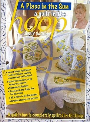 Jenny Haskins A QUILT IN THE HOOP Jenny Haskins ~  CD and Book  ~ BRAND NEW
