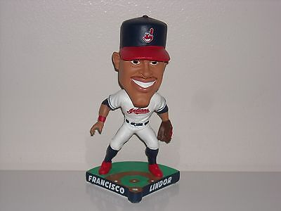 FRANCISCO LINDOR Cleveland Indians Caricature Bobble Head 2017 Limited New*