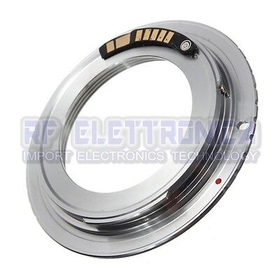 AF Confirm M42 Lens To Canon EOS EF Silver Adapter 60D 50 D 40 D 550 D
