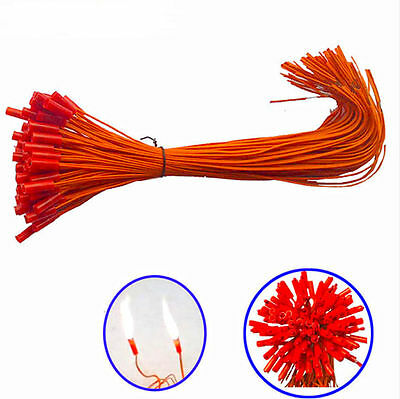 E-match+100pcs/lot 11.81in For Fireworks Firing System Electric Igniters display